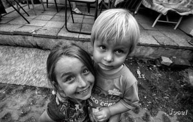 černo bíla fJessica a Maťo